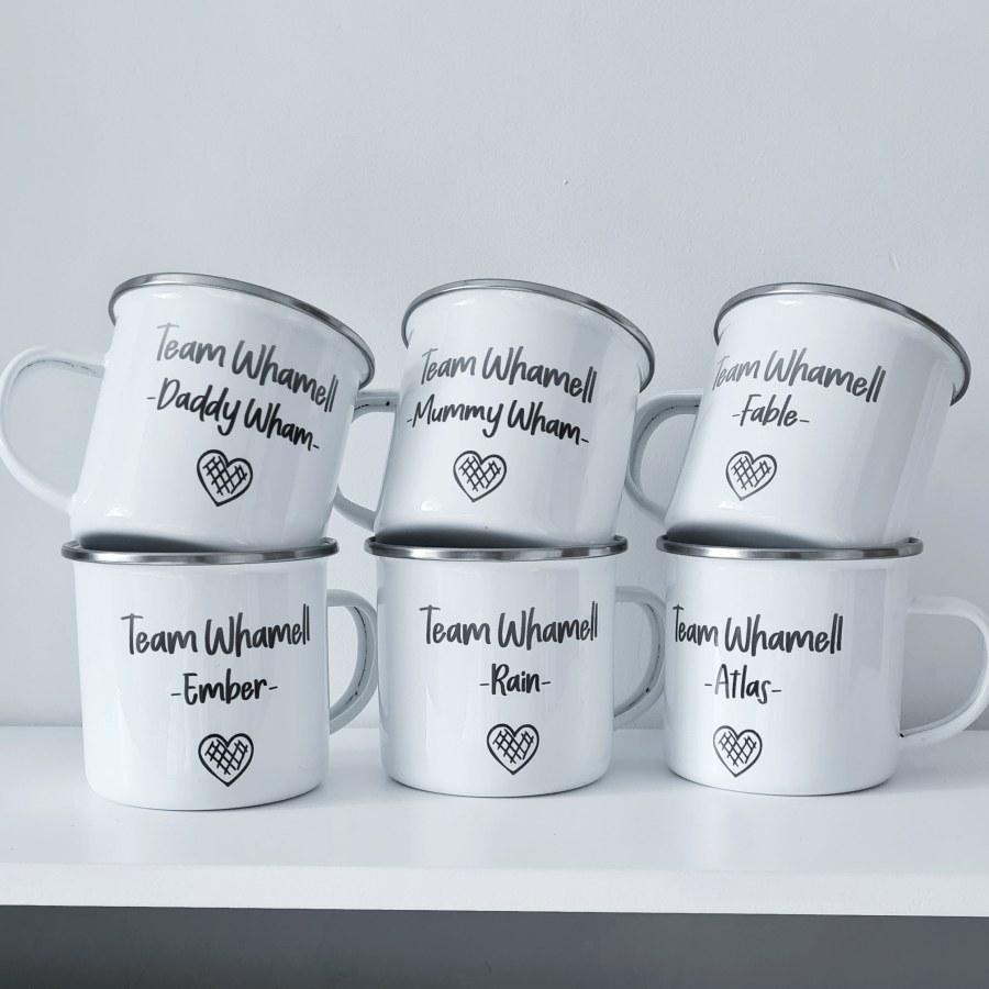 Family Camping Mugs