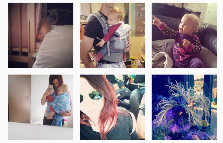 Mon instagram de juin