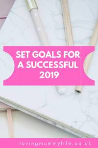 Set goals for 2019