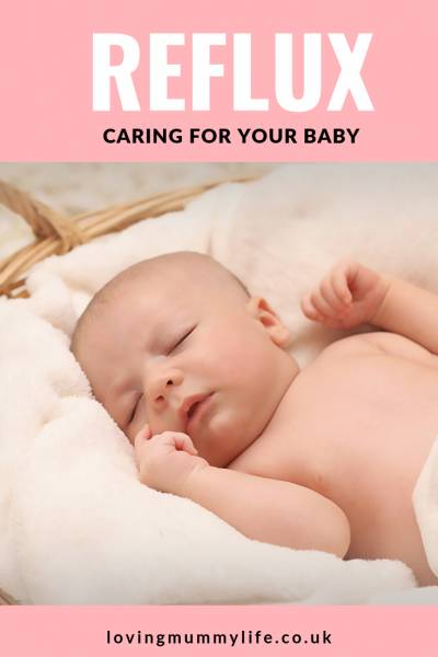 caring for reflux baby