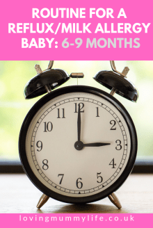 6-9 month baby routine