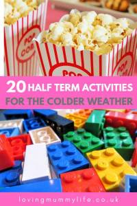 Half term activities for the colder weather