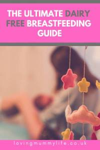 Dairy free breastfeeding guide