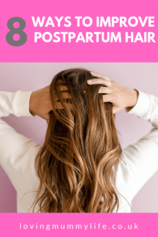 Ways to improve postpartum hair problems