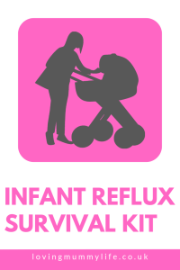 Going out with infant reflux