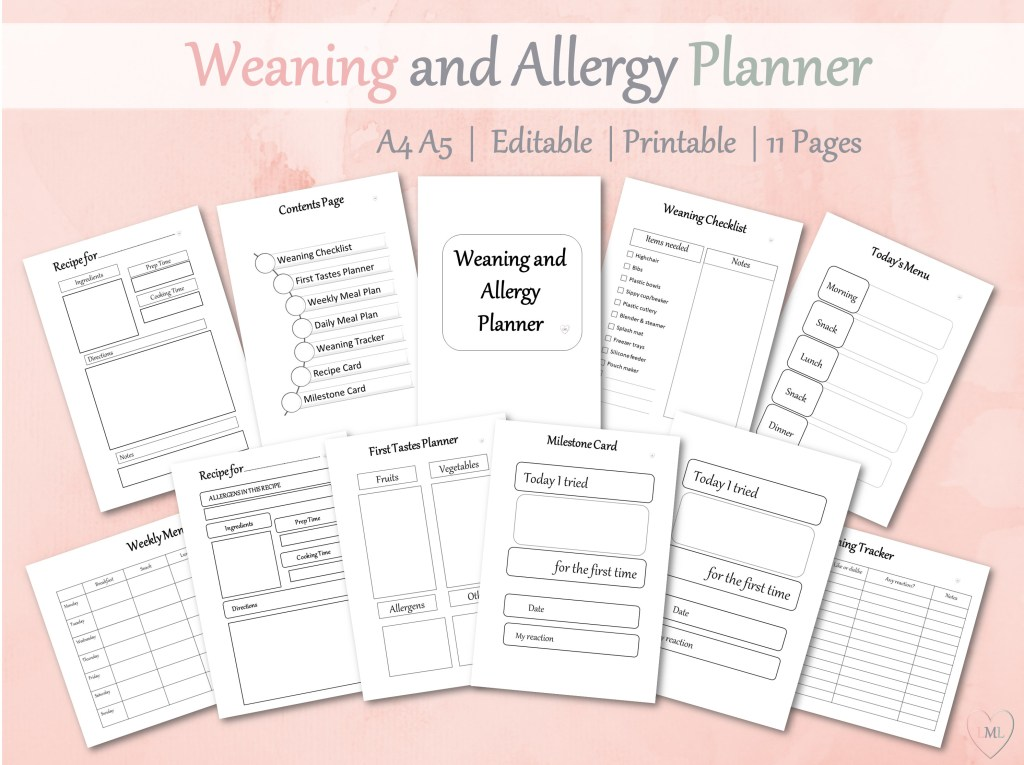 Weaning Planner