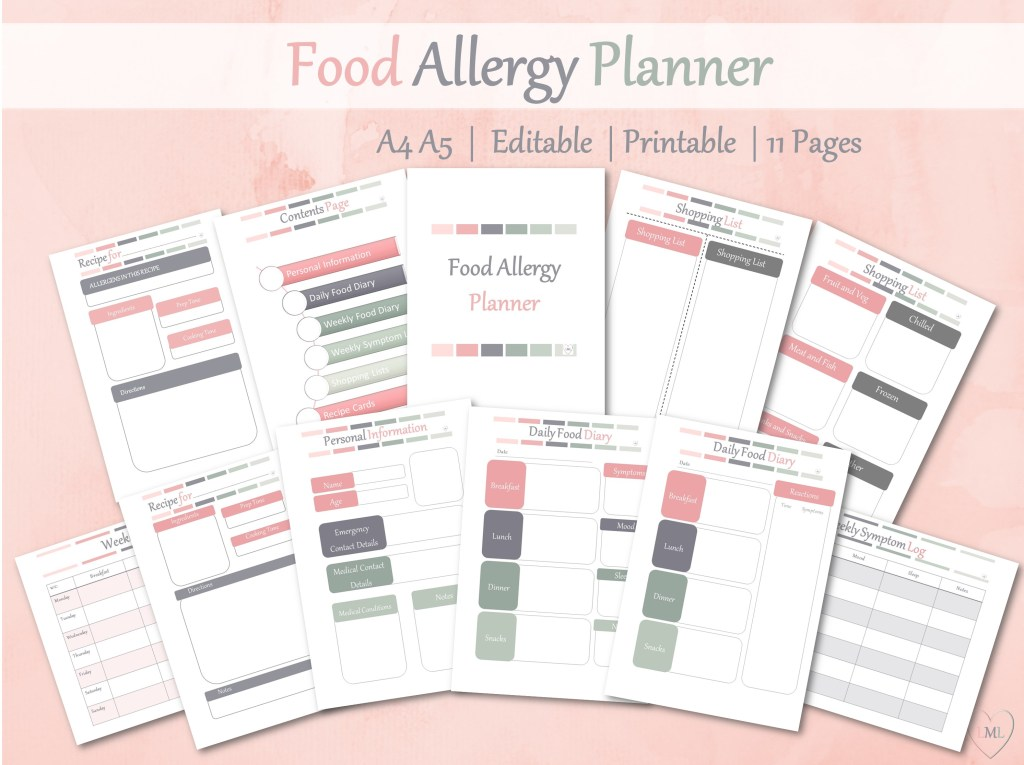 Food Allergy Planner