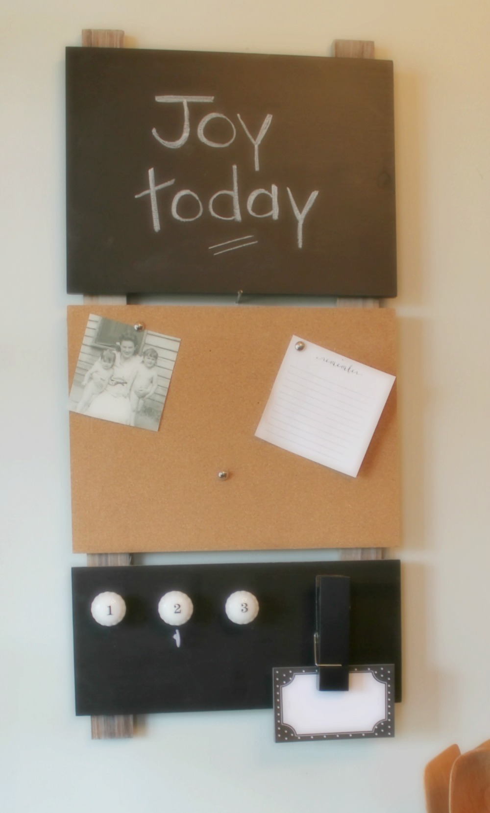 Kitchen Message Board Loving My New Simple Life