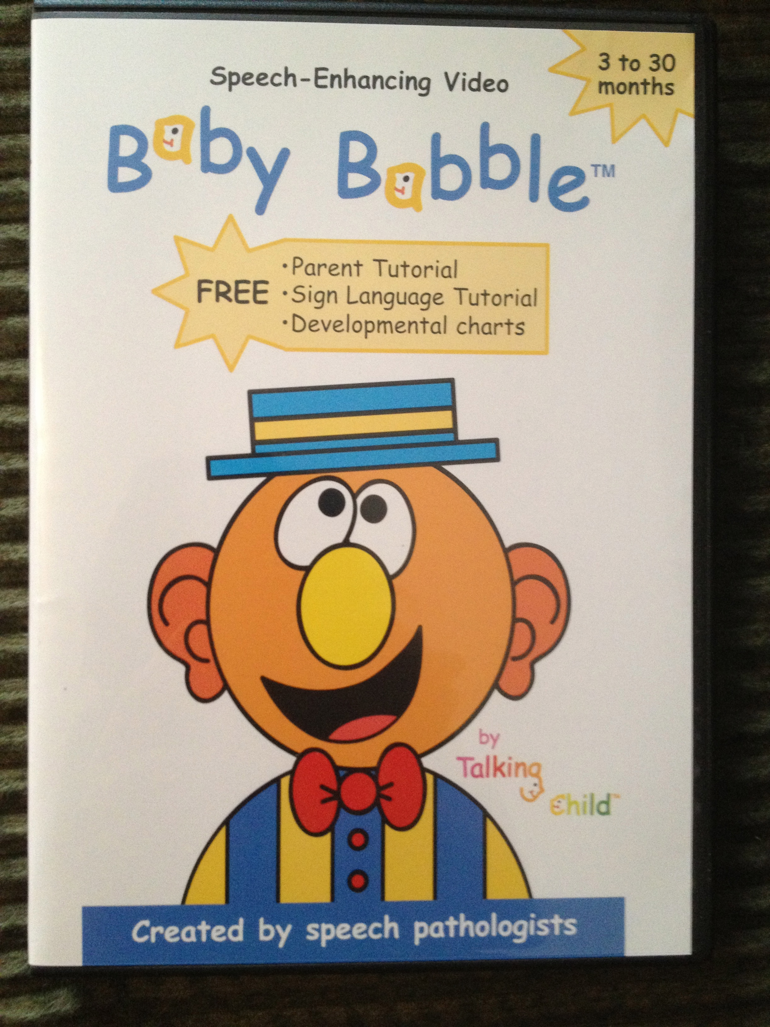 Baby Babble Dvds