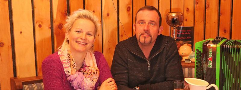 Christiane Meissnitzer und Hans Gsenger von der Meissnitzer Band