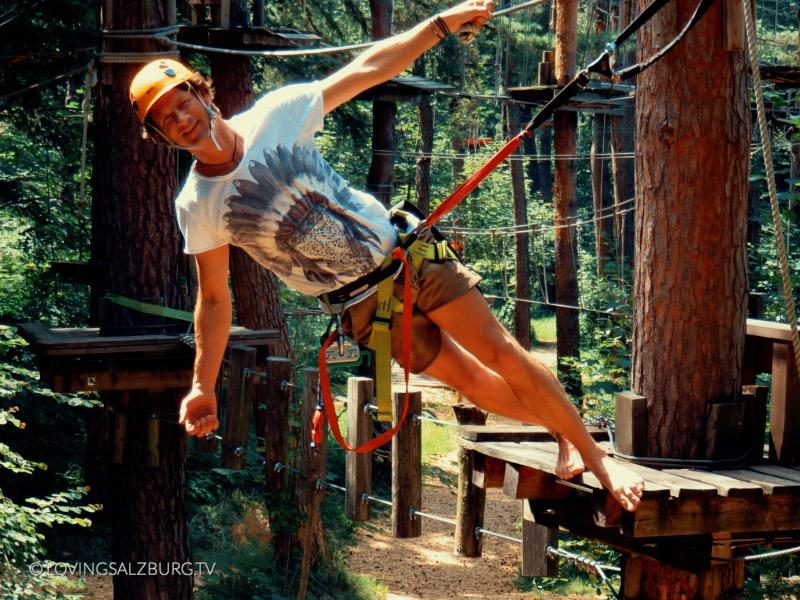 loving Salzburg TV |Kletterpark Waldbad Anif