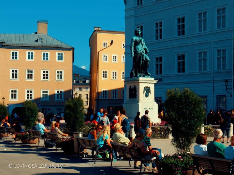 loving Salzburg TV |Mozartplatz
