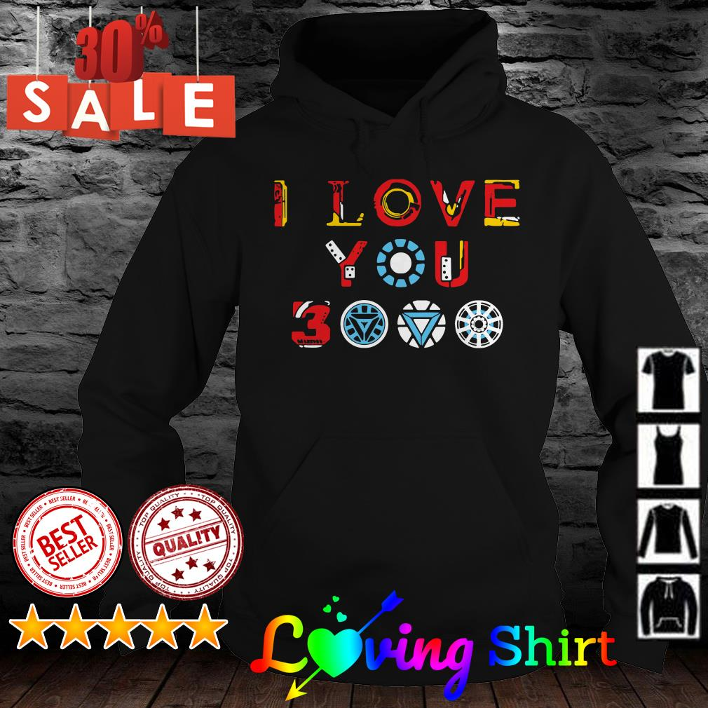 Download I love you 3000 Avengers Endgame shirt, hoodie, sweater, v ...