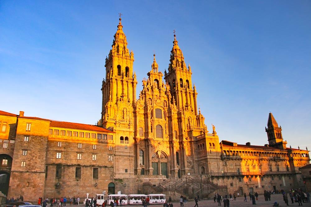 Cathedral-Santiago-de-Compostela-UNESCO-sites-Spain