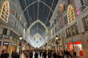 Malaga_christmas_shopping