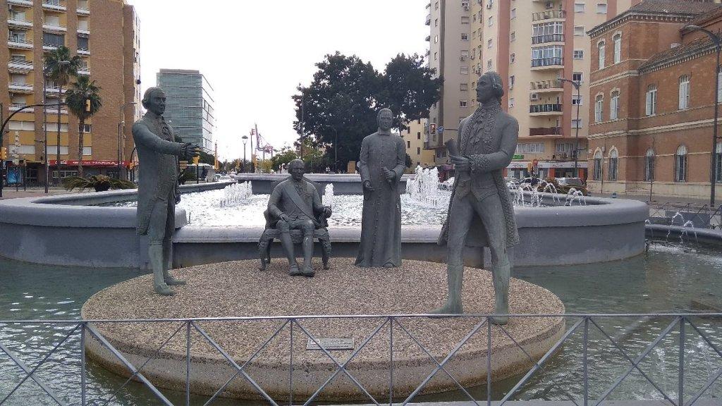 Monumento a la Familia Galvez in Malaga