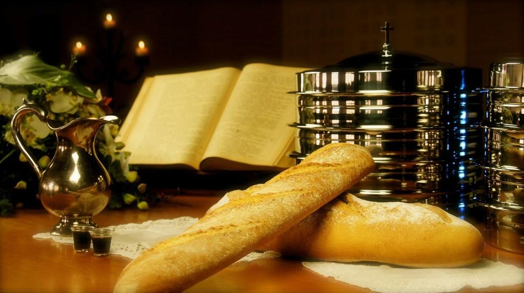 Pais Vasco wine and bread