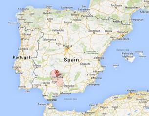 Cordoba-location-on-map