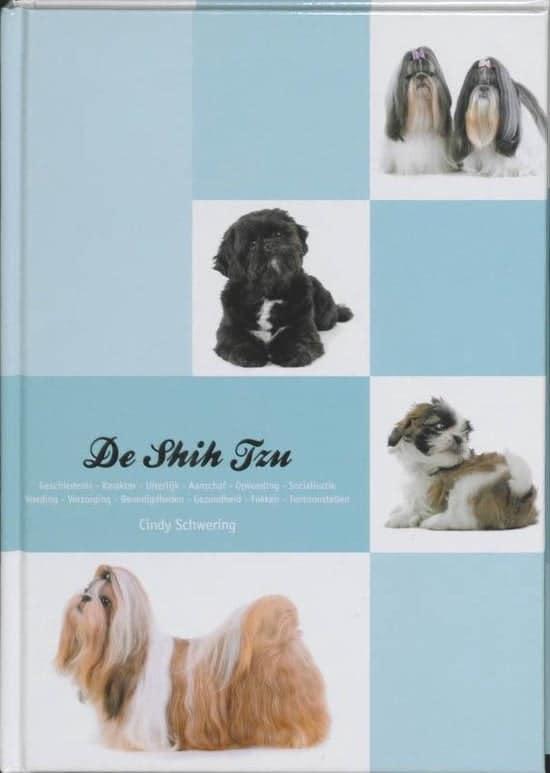 Boek over het hondenras de Shih Tzu
