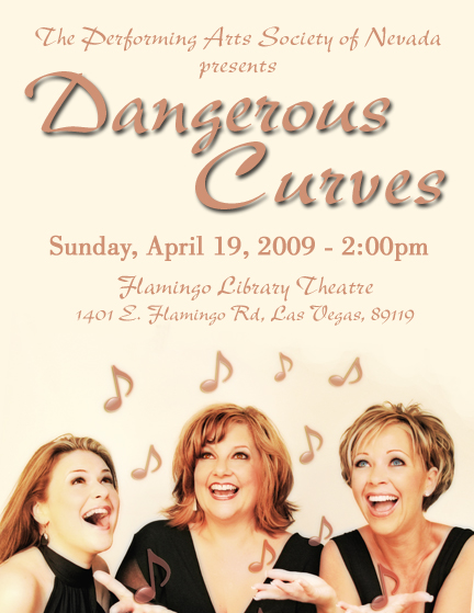 Dangerous Curves at Flamingo Library, April 19