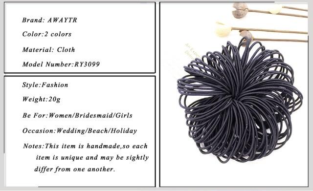 50pcs/Set 5CM Hair Elastic Bands