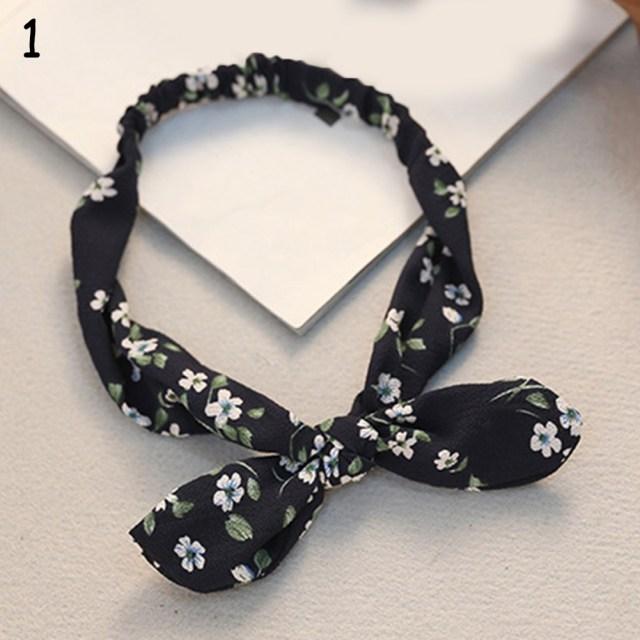 Retro Women Bandana Headband