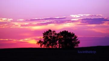 Montana has beautiful sunsets