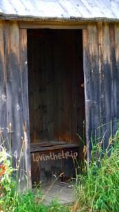 fancy outhouse in Garnet