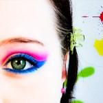 Holi MakeUp und Lippenstifttest