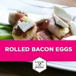 LowCarb Snack Devilled BACON EGGS!