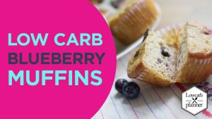 lowcarb-blueberry muffins