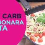 Healthy Pasta - Skinny Carbonara