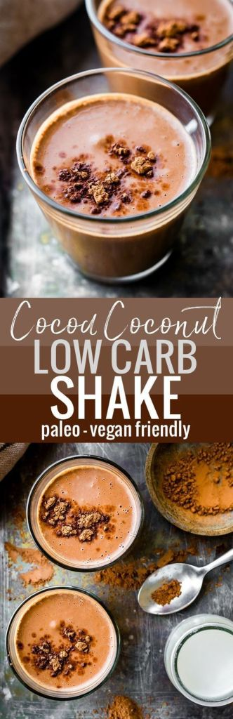 Cocoa Coconut Low Carb Shake
