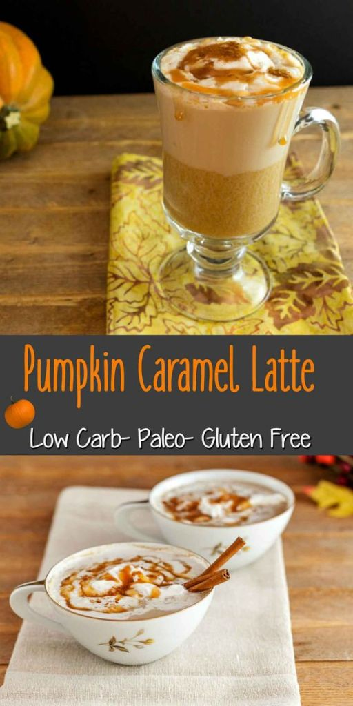 PUMPKIN CARAMEL LATTE LOW CARB