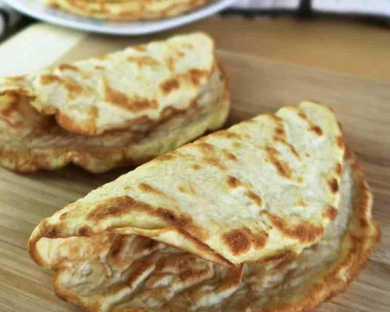 Tortillas Low Carb Para Várias Opções de Lanches