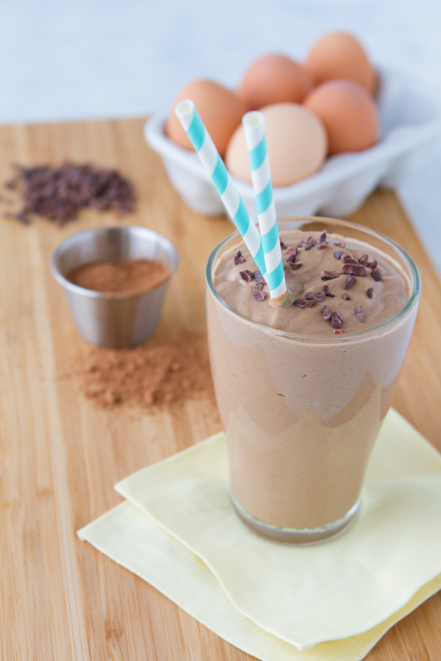 milk shake low carb