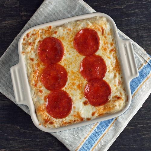 Receitas dieta low carb | Caçarola de couve flor e queijo