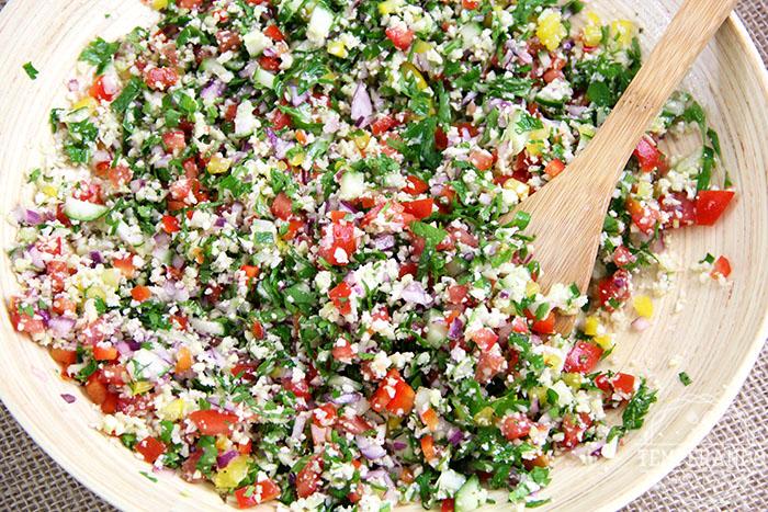 Tabule low carb – gostoso e ajuda a emagrecer