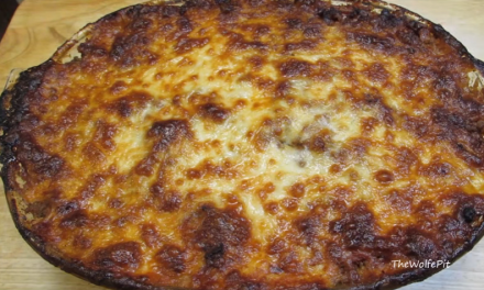 Receita de lasanha low carb sem glúten