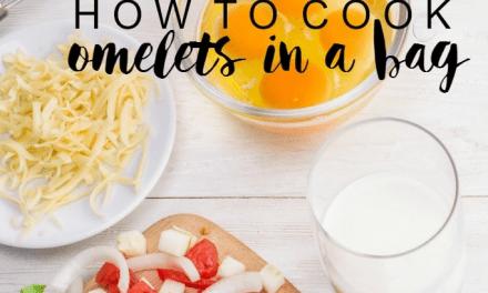 Omelete low carb feito no saco plástico e sem gordura