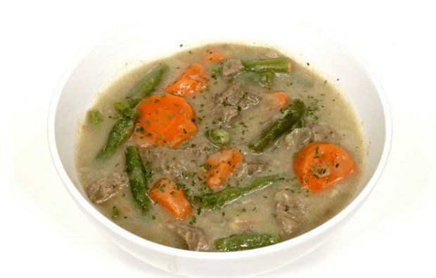 Sopa low carb de carne