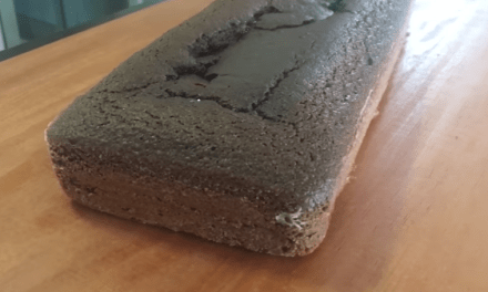 Bolo de chocolate low carb de liquidificador