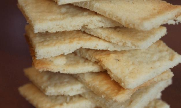 Biscoito Low Carb Crocante Doce e Amanteigado