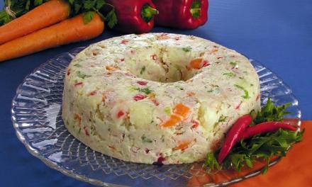 Salada de Maionese Low Carb com Frango Desfiado