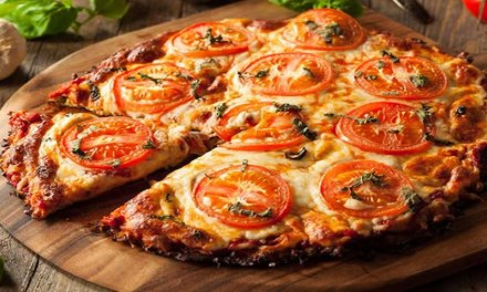 Receita de Pizza Vegetariana Low Carb