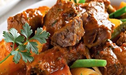 Receita Carne de Panela Low Carb com Abóbora