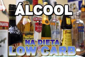 Álcool e dieta low carb