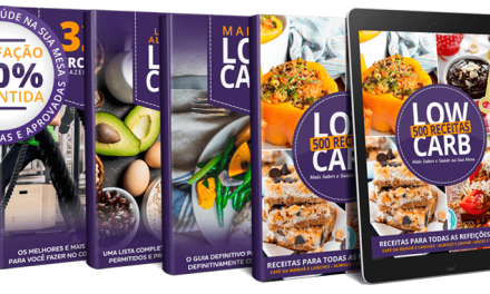 Ebook 500 Receitas Low Carb – Guia Definitivo