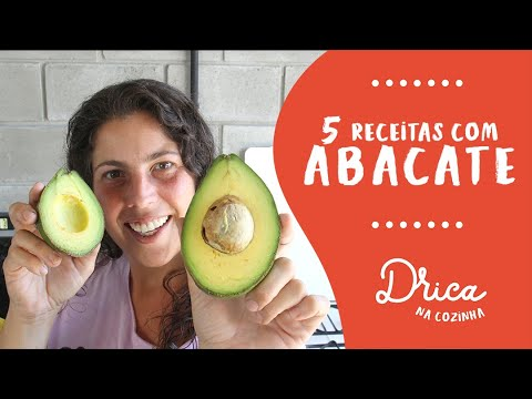5 receitas incríveis com ABACATE