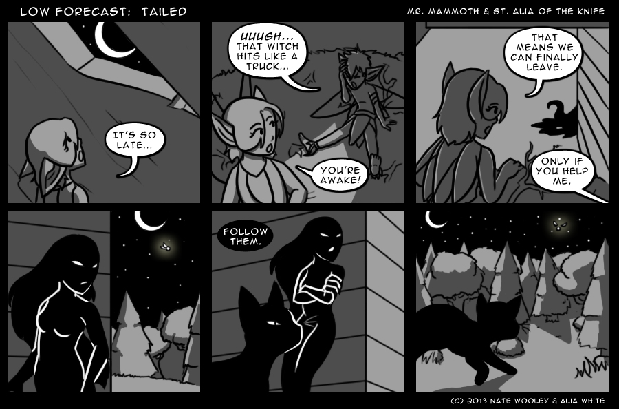 Tailed can have so many wonderful meanings, can it not?